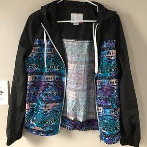 New Zumiez tribal print empyre windbreaker jacket